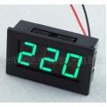LED AC 70-500V (вольтметр ~70...500В)