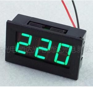 Светодиодный цифровой вольтметр ~70...500В