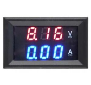 Цифровой вольтметр/амперметр DC 0-100V 10A