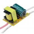 драйвер для светодиодных ламп, AC 85-265V 3W, DC 9-12V