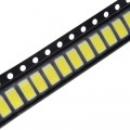 5730 LED SMD, 6500K White Light, 3.2~3.4V, 0.5W, 150mA,  50-55lm
