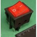 KCD2 переключатель на 2 положения, 15A 250V AC