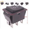 KCD4 переключатель на 3 положения (шестиполюсник), 16A 250V AC